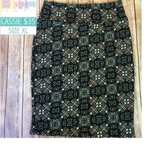 NWT Lularoe Cassie Skirt Size XL